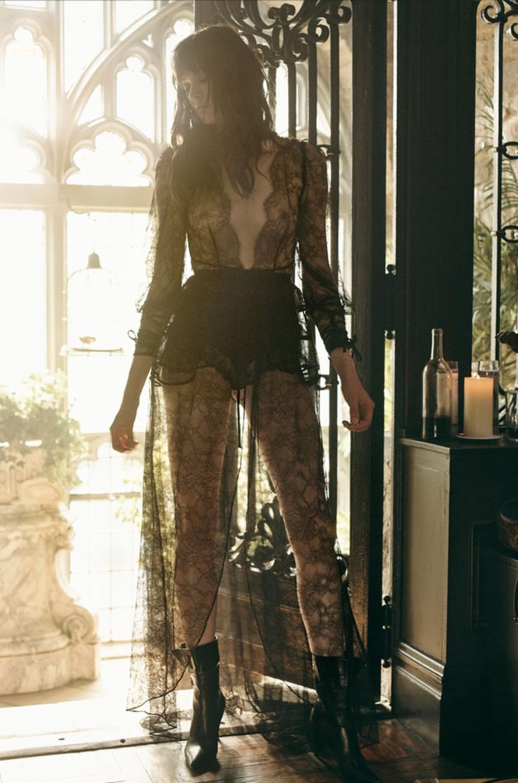 lace gown by agent provocateur