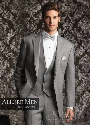 Heather Grey 'Allure' Tuxedo  THIS IS WHAT JON WANTS!