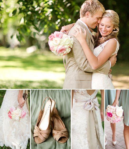 dusty shale + pink + tan :: virginia wedding photos
