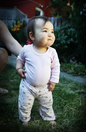 Chiyo, Japanese and Causcasian. Cute mixed Asian baby!
