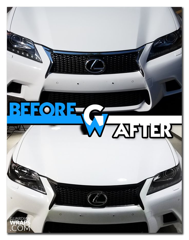 2014 Lexus GS350 Matte Black Grill Chrome Delete Vinyl Wrap