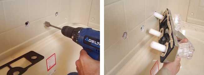 replace or repair a mobile home bathtub
