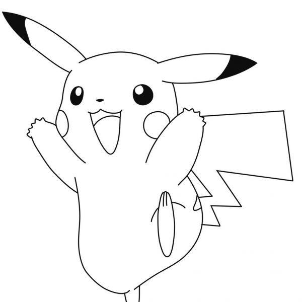 Dibujos Pikachu Para Dibujar Imprimir Colorear Y Recortar Facilmente Pikachu Dibujo De Pikachu Unas De Pikachu