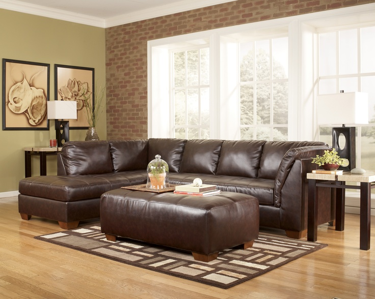 We Love This Ashely Sectional Because It Fits Many Bodies But Keeps A Room Looking