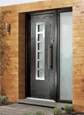 What is a Composite door? Composite doors have the style & look of a timber door, without any of the maintenance problems which come with a timber door. To see the range we have in our showroom simply get in touch.