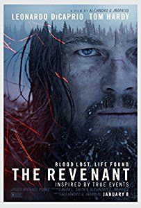 Image result for the revenant movie poster
