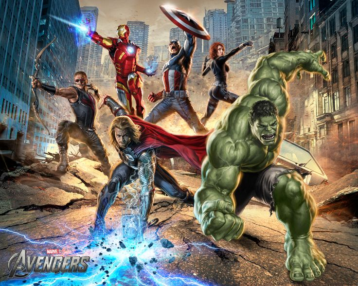 The Avengers Team Wallpapers 2