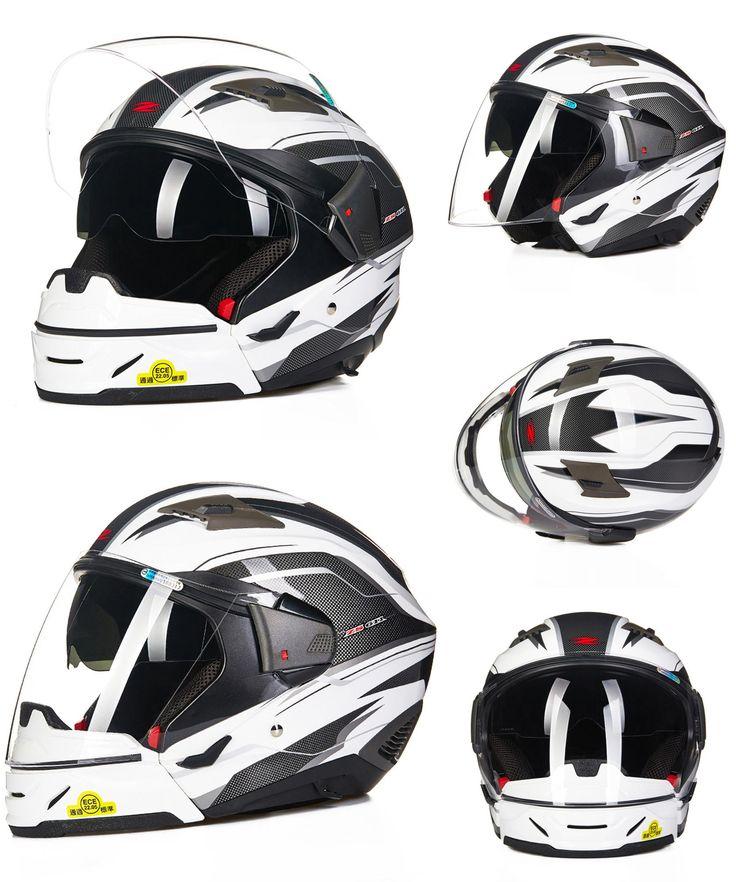 [Visit to Buy] Open Full Face Modular Motorcycle helmet Moto 611E5 Capacetes Motociclismo Cascos Para Moto Casque Motosiklet Kask Helmets #Advertisement