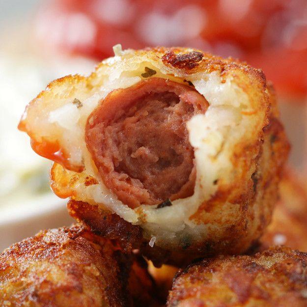 Olha só que delícia: | O bolinho de hot dog chegou para alegrar suas festas