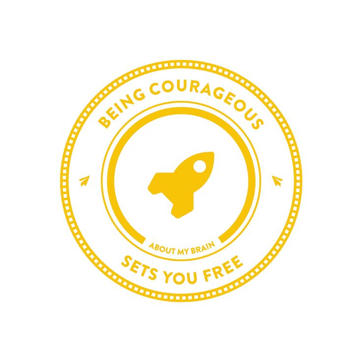 Courage refers to the ability of a person to face difficult circumstances despite being fearful.