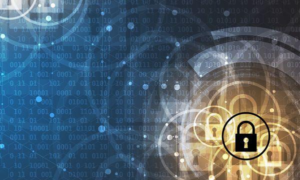 Set of security technologies with database vector 13 – Free EPS file set of security technologies with database background