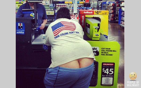 RED, WHITE, & EWWW!Butt Pics, Humor Peopleofwalmart, Walmart Videos, Meanwhileat Walmart, Walmart Peep, Wal Mart, Walmart 15, Walmart People, People Of Walmart