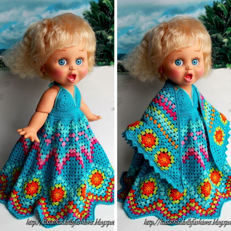 Вязание крючком для кукол Дисней Аниматорс :: Мастер-классы Оксаны Лифенко