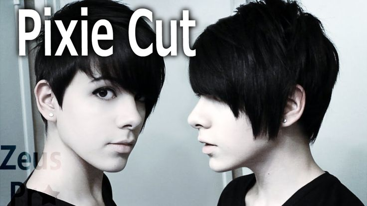 how to cut your own pixie crop