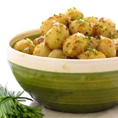 Delia's potato salad. I make this a lot in the warmer months, such a nice change from the usual 'swimming in mayo' variety.