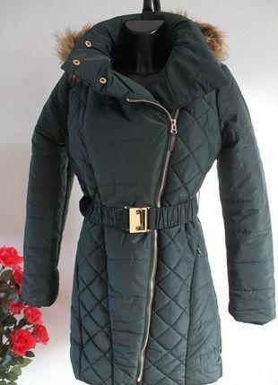 Kaufe meinen Artikel bei #Kleiderkreisel http://www.kleiderkreisel.de/damenmode/mantel/111362954-blogger-wintermantel-mit-goldenen-gurtel-4042