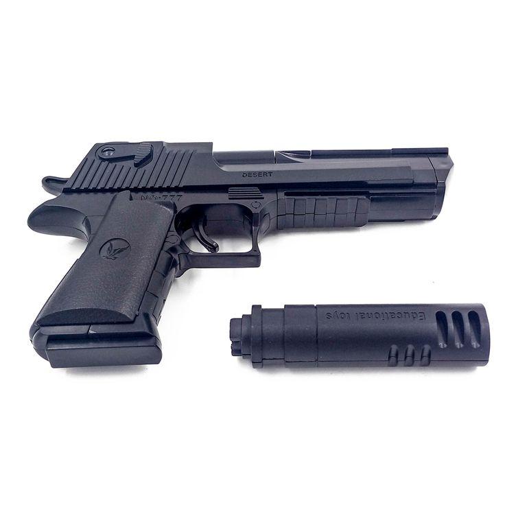 desert eagle Building blocks ,nerf m1911 rifle toy gun orbeez airsoft pistol air soft desert eagle slugterra ak47 sniper m4a1