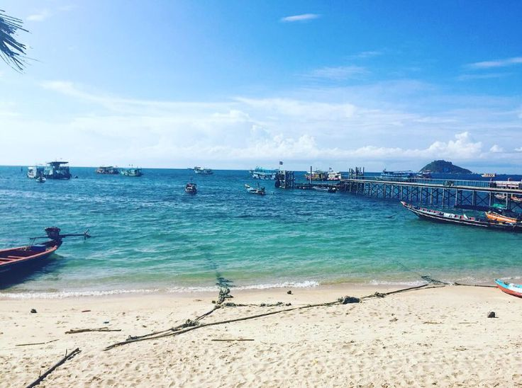 Beach Café ☕️ Koh Tao Thailand 💋