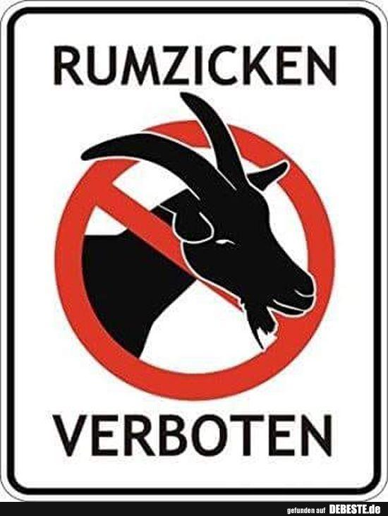 Rumzicken Verboten! | Lustige Bilder, Sprüche, Wi…