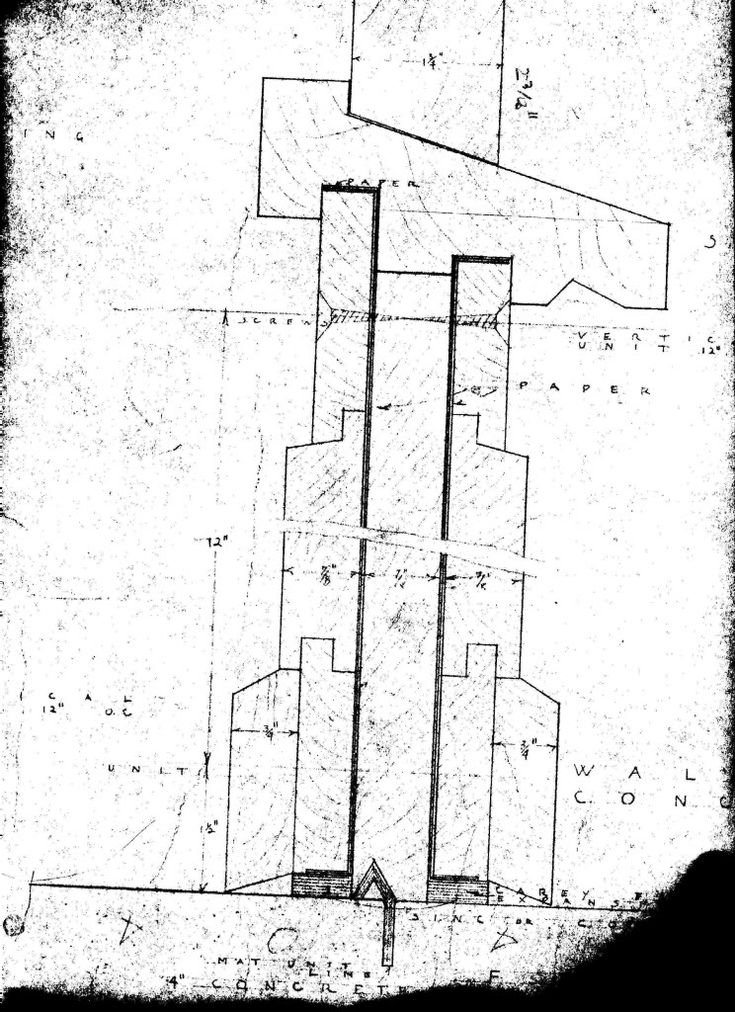 Wall Construction Plan Jacobs 1 House 441 Toepfer Ave