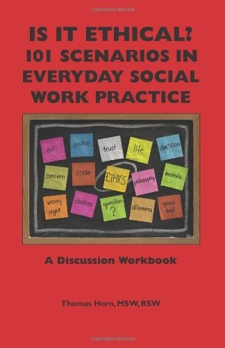 ethical dilemmas in social work and Social workers face ethical dilemmas on a daily basis, banks illustrates this in her quotation 'ethical dilemmas occur when the social worker sees herself as facing a choice between two equally unwelcoming alternatives, which may involve a conflict of moral values, and it is not clear which choice.