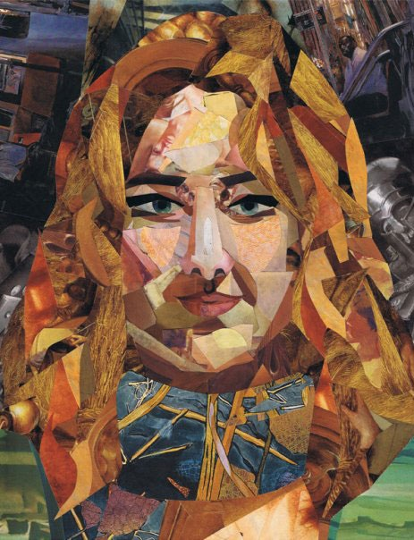 Example of a Collage Self Portrait