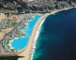 Largest pool in the world in Algarrabo, Chile. It stretches more than half a mile and has 66 million gallons of water!