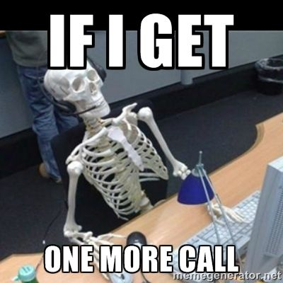 Call center meme
