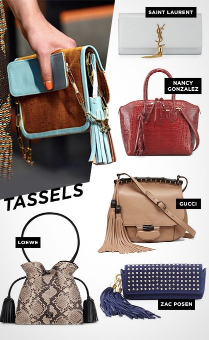 Must-Have Handbags for Spring 2014: Tassels