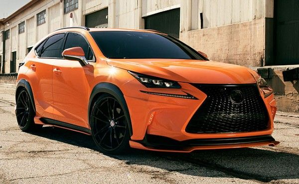 360 Elite Motorsports prepared a tuning package for the Lexus NX and presented it at SEMA. The car is painted in bright orange color, and it features a front lip, 21 inch wheels, rear spoiler and diffuser.