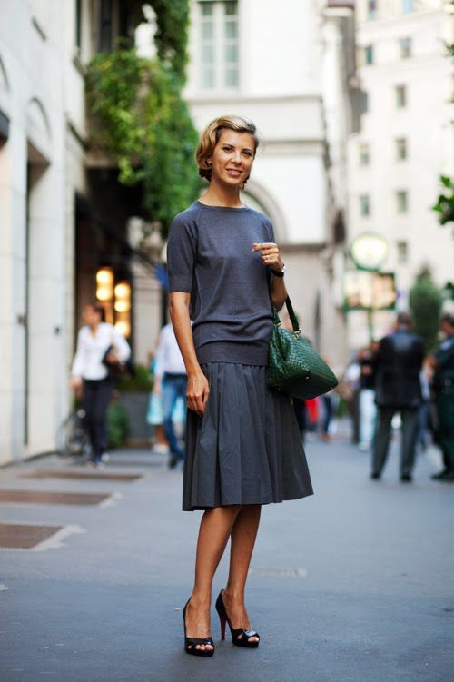 modest and girly - italian street fashion