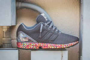 "adidas ZX Flux ""Multicolor Sole"""