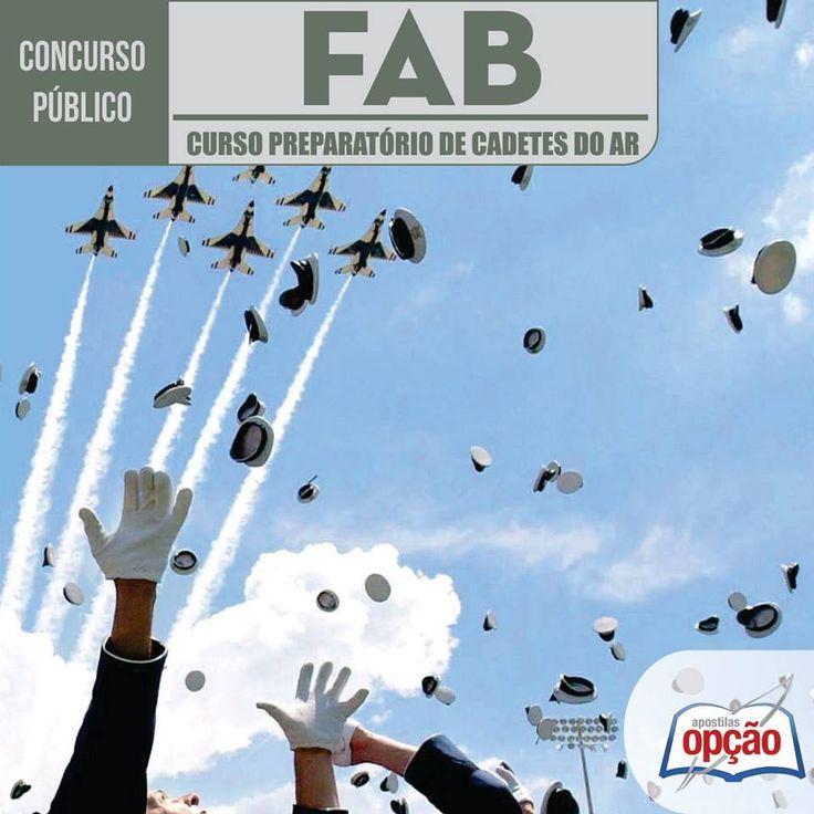 Apostila Concurso Força Aérea Brasileira / FAB - 2016, para o Exame de Admissão ao Curso Preparatório de Cadetes do Ar do ano de 2017 (CLIQUE NA IMAGEM)