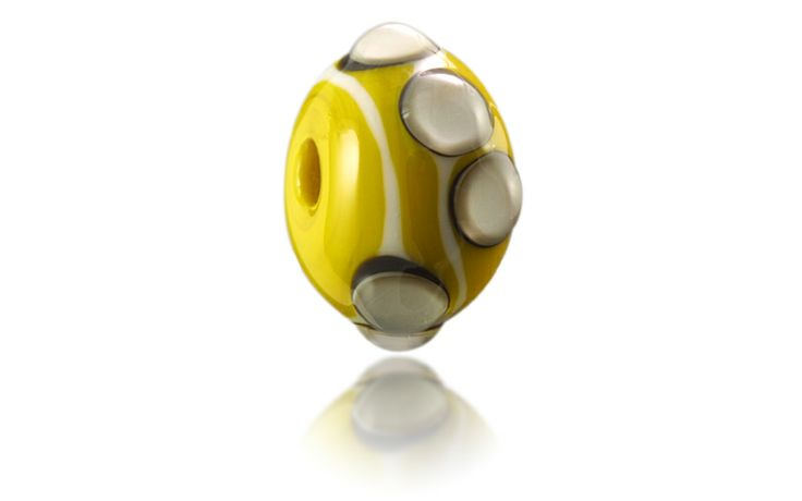 Westward Ho! Nalu Bead inspired by the pebble ridge that defines the beach, available at http://www.nalubeads.com/uk-series/devon-breaks/westward-ho