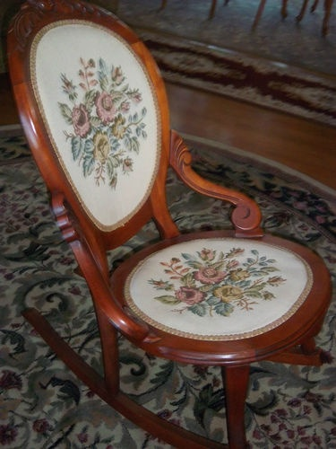 rocking chair ebay armless antique carved rocking chair ebay antique ...