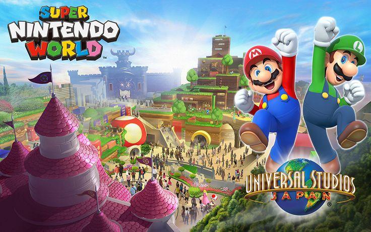 Le parc d'attractions Super Nintendo World arrivera au Japon avant les Jeux olympiques de 2020 (Journaldugeek)