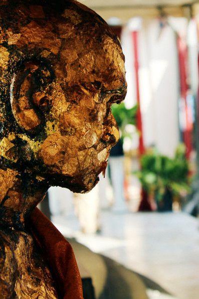 Bangkok, Thailand, golden, statue