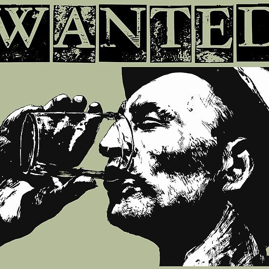 Wanted - Man with Drink