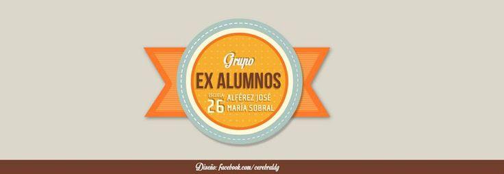 #diseño de #logo para grupo de Ex Alumnos en #merlo #buenosAires