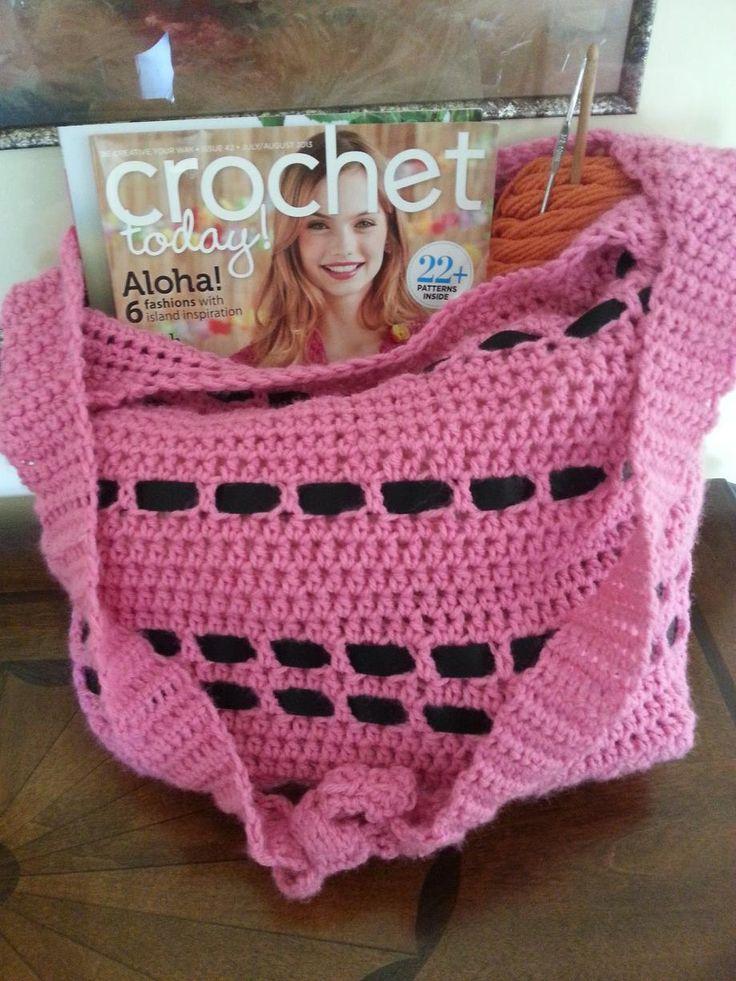 Crochet Chiq: Back to Class Bag