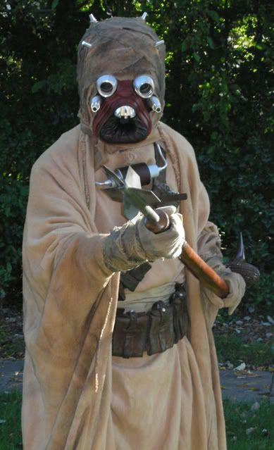 For Sale Great Tusken Raider Costume for Halloween!