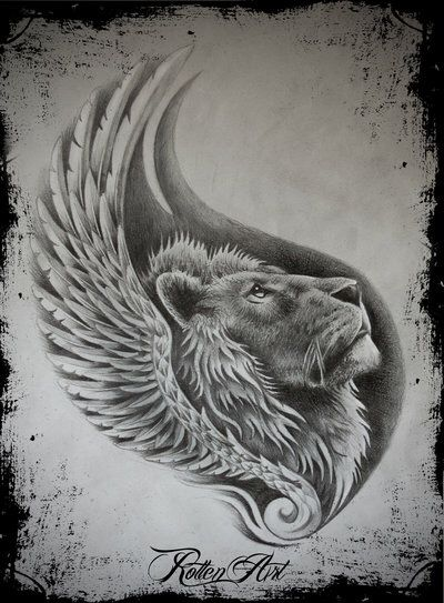 Lion1 by dmrotten on @DeviantArt