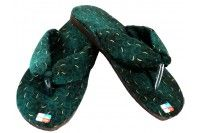 Flip-flops batik oshin Moss green