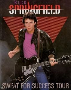 Rick Springfield - 9/1/1982 - Blossom Music Center, Cleveland, Oh.