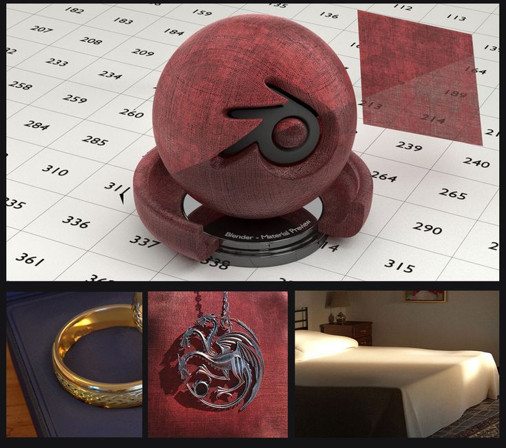 Fabric material for Blender (no UV's needed) by Nikola3D