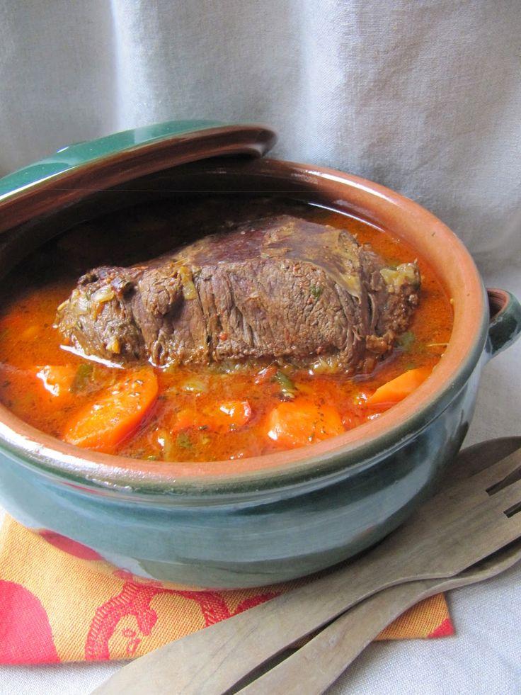 La cuisine d'ici et d'ISCA: Paleron braisé à la provençale