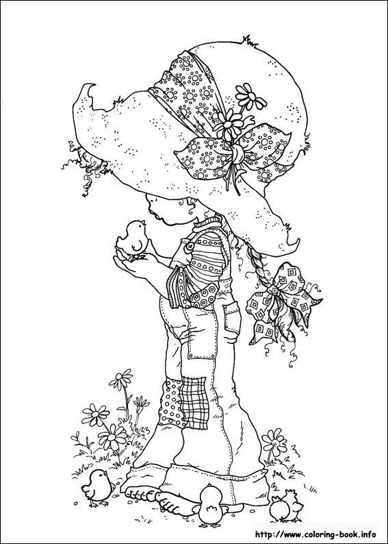 Sarah Kay KeyHolly HobbieDover Coloring PagesPrintable
