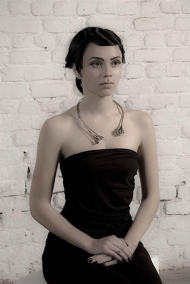 Melio Jewels ~ OMEN silver , neckpiece #silver #neckpiece #melio_jewels