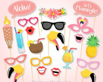 Printable Graduation Party Photo Booth Props by RainbowMonkeyArt