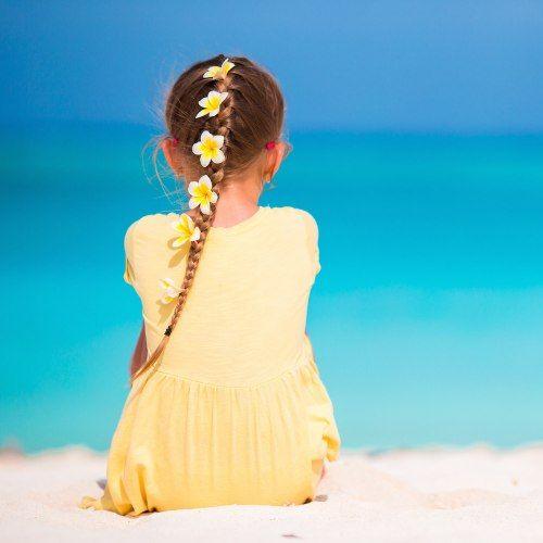 Acconciature per bambina: qualche idea da damigella (e non solo) #capelli #matrimonio